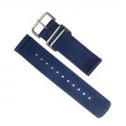 Pulseira Casio Protrek Original PRG-600YB-2 ( 24mm)  Tecido Azul *