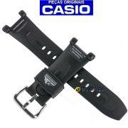 Pulseira Casio Protrek PAG-240. PAG-40 Resina Preta *