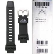 Pulseira Casio PathFinder PAW-5000 Resina Preta (18/27mm)