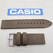 Pulseira Casio Protrek PRG-600YL-5 Couro Marrom - Peça 100% Original