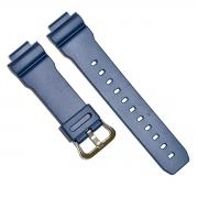 Pulseira Casio Resina Azul Dw-9052-2v Dw-9050 100% Original