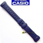 Pulseira Casio W-212h Resina Azul (23 / 18mm) - 100% Original
