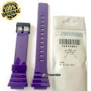Pulseira Casio W-215H-6AV Cor Púrpura (roxo) - 100% Original