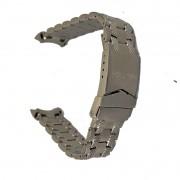 Pulseira De Aço Dourado 12mm Náutica 95051-1