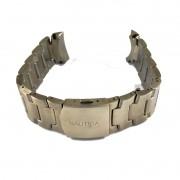 Pulseira De Aço Dourado 24mm Náutica 95000-2