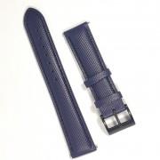 Pulseira De Nylon e Couro Azul 18mm Náutica 95074-3