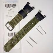 Pulseira de Nylon + Par de Clips  SGW-100B-3V  Verde Casio Outgear