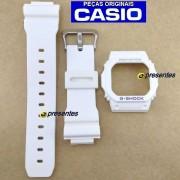 Pulseira e Bezel Branco Fosco G-5600A-7 E GW-M5600A-7 Casio G-shock