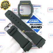 Pulseira e Bezel G-5600A-3 e GW-M5600A-3 Verde Casio G-shock - Peças Originais