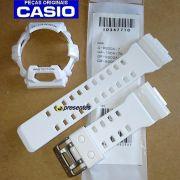Pulseira e Bezel G-8900A-7 Branco Brilhante (verniz) Casio G-Shock - ORIGINAL