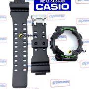 Pulseira e Bezel GD-120N-1B3 Casio G-shock Semi Brilhante