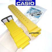 Pulseira G-shock Amarelo Fosco 16MM G-5600a-9, G-6900a-9, GW-6900a-9, GW-M5600a-9