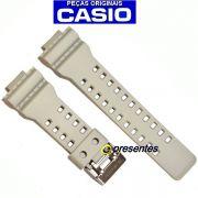 Pulseira Ga-100SD-8A Casio G-shock Resina BEGE *