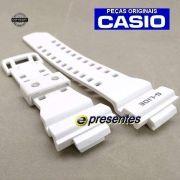 Pulseira GAX-100A 7A G-LIDE Casio G-shock Branco Fosco - 100% Original