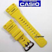 Pulseira GN-1000-9a Casio G-shock Resina Amarela *