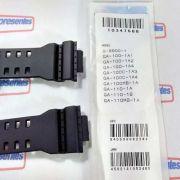 Pulseira + Vedação + Bateria  GA-100 GA-110 GA-120 Preto fosco