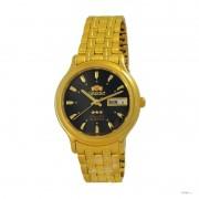 Relógio Automático Orient Dourado FAB05004B9 36mm 3estrelas