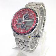 Relógio Citizen Masculino Navihawk Promaster Aviador JN0120-85X