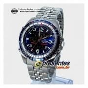 Relógio Citizen Wingman Azul 1ano Garantia Original Jq8007 Anúncio com variação