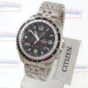 Relógio Citizen Wingman Promaster Cronógrafo wr100 JQ8001-57E - TZ10075T