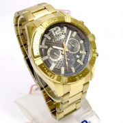 Relógio Condor Dourado Masculino Gradeados COVD33AR/4C