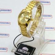 Relógio de Pulso Feminino Orient Automatico Dourado FNQ0A009C9