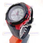 Relógio Esportivo AnaDigi Speedo wr50 estilo Grande 52mm crono luz