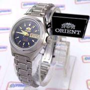 23b1d249c60 Relógio Feminino Orient Automatico Aço Inox Azul Marinho FNQ18004D9