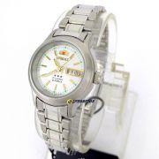 Relógio Feminino Orient Automatico Fnq05006w9 (25mm largura)