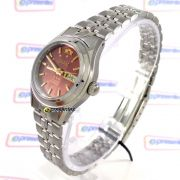 Relógio Feminino Orient Automatico Mini Prateado FNQ04004H9