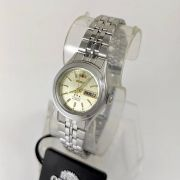 Relógio Feminino Orient Automatico Mini Prateado FNQ04005c9