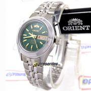 Relógio Feminino Orient Automatico Mini Prateado Fnq04005f9