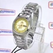 Relógio Feminino Pequeno Orient Automatico 25MM FNQ1X001C9