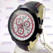 08f8100c073 Fc007-a Relógio Ferrari Runner Cronógrafo Masculino Pulseira Couro ...