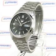 Relógio Masculino Automático Seiko5 Fundo Preto 38mm SNXS79K