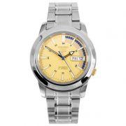 Relógio Masculino Seiko Automático SNKK29K1 Aço Inox 38,5 mm SEIKO-5