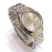 Relógio Masculino Seiko Automatico SNKL19K1 Aço Inox 38MM SEIKO-5
