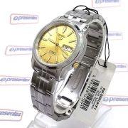 Relógio Masculino Seiko Automatico SNKL81K1 Aço Inox 37MM SEIKO-5