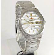 Relógio Orient Automático Aço 21jewels Prateado FEM5M012W9 35MM
