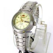 Relógio Orient Automatico Feminino Fnq05006c9 - 25mm largura
