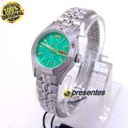 Relógio Orient Automatico Feminino Mini 25mm Fnq04004f9