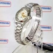 Relógio Orient Automatico Feminino Mini Autêntico Fnq18004w9