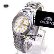 Relógio Orient Automático Feminino Mini Autêntico FNQ1X003W9