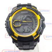 Relógio Speedo wr100 Grande 52mm Crono luz Digital  Masculino Crono luz
