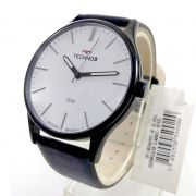 Relógio Technos Masculino Aço Pulseira Couro 2035MQQ/2B 42mm