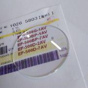 Vidro Mineral Casio Edifice  EF-500, EF500BP, EF-500D, EFR-508G *