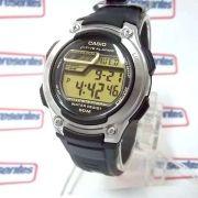 W-212H-9AV Relogio Casio Digital 5 Alarmes Wr50 Illuminator