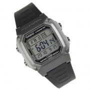 W-800HM-7 Relógio Casio Digital WR100m Iluminação Preto/cinza