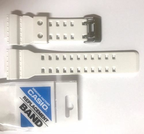 Bezel + Pulseira Casio G-Shock Branco Fosco Ga-120 Gd-101  - Alexandre Venturini