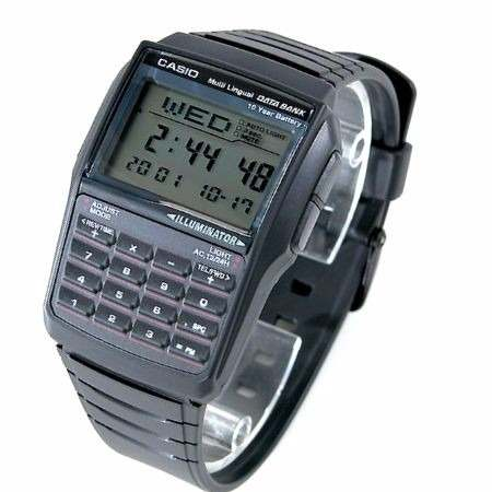 a8a89b13e9c Relógio Casio Databank Dbc-32 C  Calculadora E 25memorias - E-Presentes